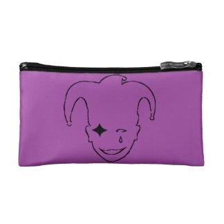 Purple And Black MTJ Makeup Bag