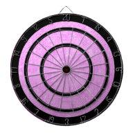Purple and Black Regulation Dart Board