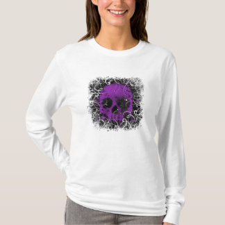 Purple and Black Skull T-Shirt