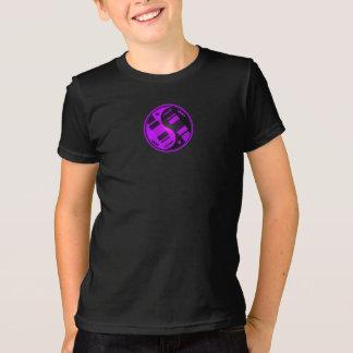 Purple and Black Yin Yang Guitars T-Shirt