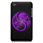 Purple and Black Yin Yang Zombies Barely There iPod Cases