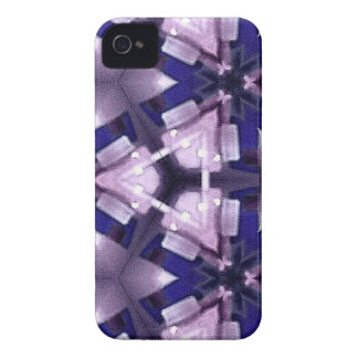 Purple and Blue Abstract iPhone 4 Cover