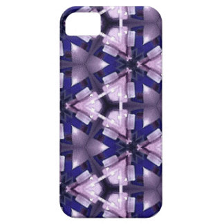 Purple and Blue Abstract iPhone SE/5/5s Case
