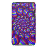 Purple and Blue Balls Fractal Pern Barely There iPod Covers