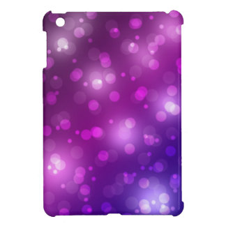 Purple and Blue Bokeh Case For The iPad Mini