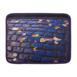 Purple and Blue Cobblestone Street MacBook Air Sleeve