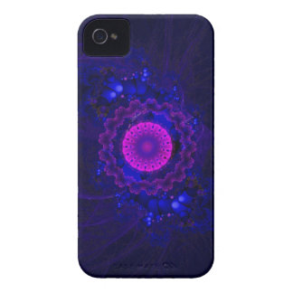 Purple and Blue Fractal Art Blackberry Bold Case