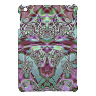 Purple and Blue Lace Design iPad Mini Cover