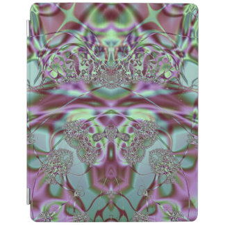 Purple and Blue Lace iPad Cover