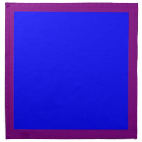Purple and Blue Napkins