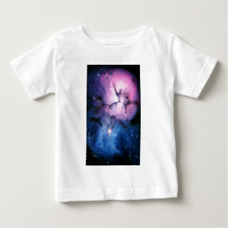 Purple and Blue Nebula Baby T-Shirt