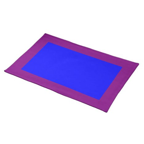 Purple and Blue Placemat