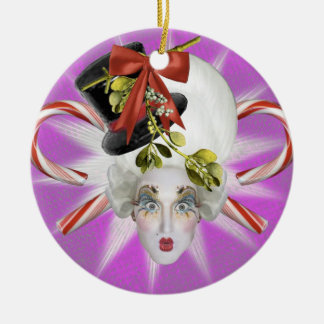 Purple and Blue Poppycock Ornament
