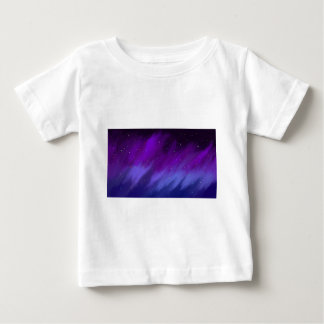 Purple and blue space mist. baby T-Shirt