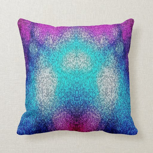 Blue And Lavender Throw Pillows : purple and blue throw pillow Zazzle