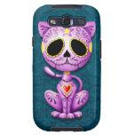 Purple and Blue Zombie Sugar Kitten Samsung Galaxy SIII Case