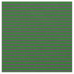 [ Thumbnail: Purple and Dark Green Colored Lines Fabric ]