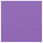 [ Thumbnail: Purple and Dim Grey Lined Pattern Fabric ]