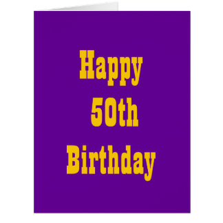 oversized birthday cards  zazzle, Birthday card