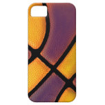 purple and gold basketball case iPhone 5 covers