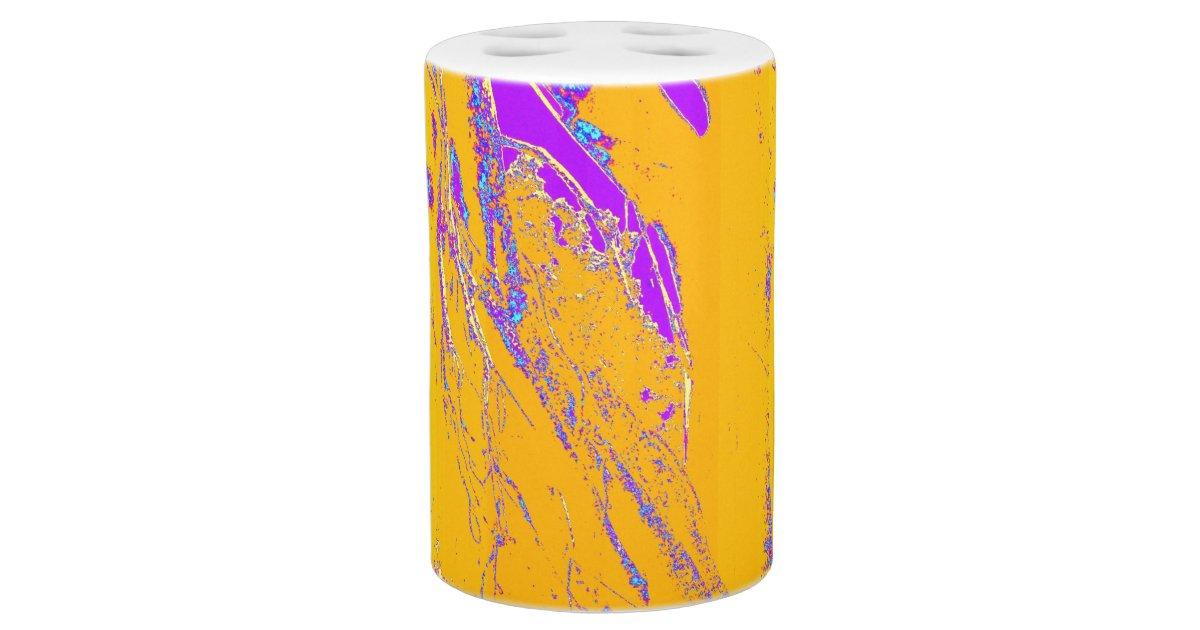 Purple and gold bath set zazzle for Purple and gold bathroom set