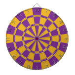 Purple And Gold Dart Boards