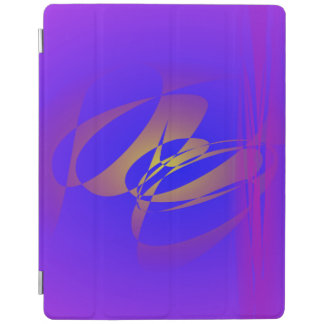 Purple and Gold iPad Cover