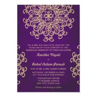Indian Wedding Invitations & Announcements | Zazzle