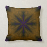 purple and gold pillow