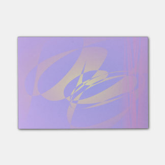 Purple and Gold Post-it® Notes
