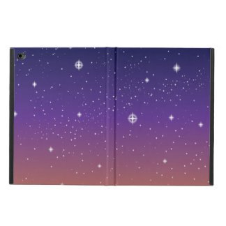 Purple and Gold Starry Sunset Sky Powis iPad Air 2 Case