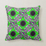 Purple and Green fF Pillows