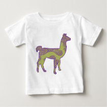 Purple and Green Llama shirt