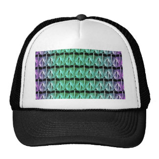Purple and Green Scales Trucker Hat