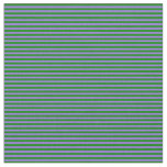 [ Thumbnail: Purple and Green Striped Pattern Fabric ]