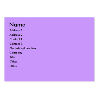 Purple and Green Striped Photo Frame Business Card Templates