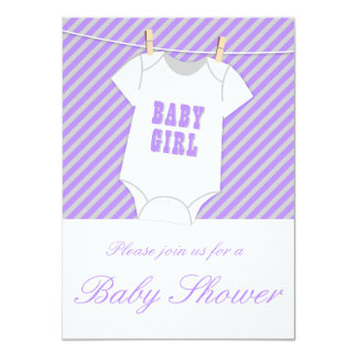 Purple And Grey Baby Shower Invite OPT 2