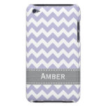 Purple and Grey Chevron iPod Touch 4g Case Cover Case-Mate iPod Touch Case