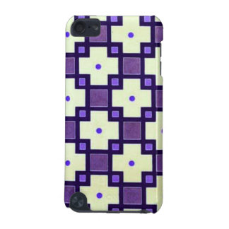 Purple and Ivory Pattern iPod Touch (5th Generation) Case