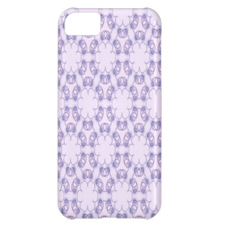 Purple and Lavender Circular Pattern Iphone 5 Case