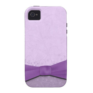 Purple and Lavender Floral Case-Mate iPhone 4 Covers