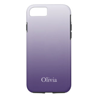 Purple And Lavender Gradient iPhone 8/7 Case