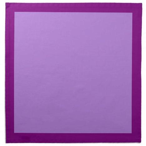 Purple and Lavender Napkins