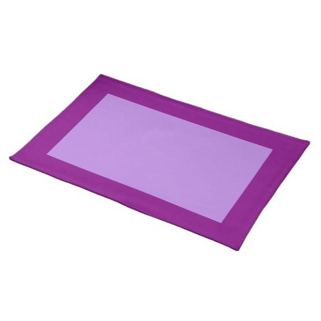 Purple and Lavender Placemat