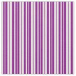 [ Thumbnail: Purple and Light Cyan Pattern Fabric ]