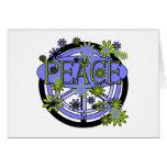 Purple and Lime Peace T-shirts and Gifts Card