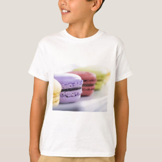 Purple and Maroon French Macaron Cookies T-Shirt