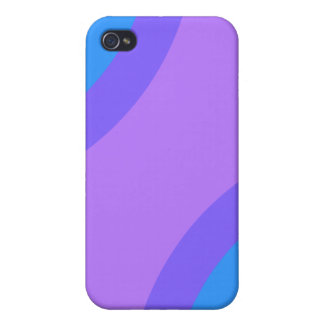Purple and Multicolor Abstract. iPhone 4 Cover