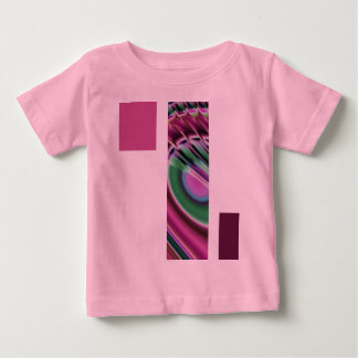 Purple and multicolored baby T-Shirt
