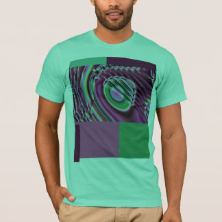 Purple and multicolored T-Shirt